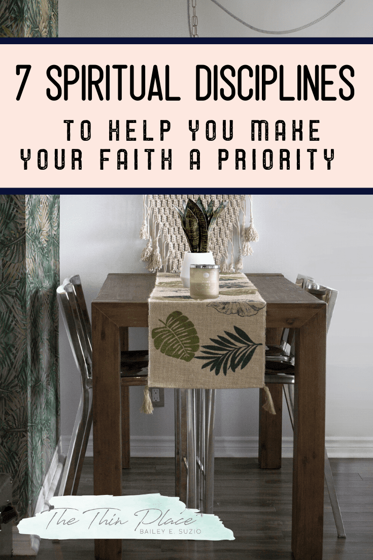 7 Ways for Christian woman to make their faith a priority #christianwomen #biblestudy #faith #devotion #biblereading #christian