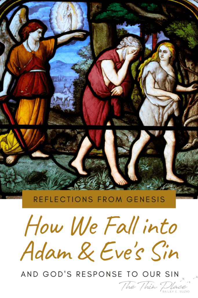 All is no longer as it was in the Garden when God walked with Adam and Eve in the cool of the evenings. Adam and Eve chose to reject God in Genesis 3 and we are still making the same choices they made. But God is still good. #devotional #bible #christianwoman #christianwomen #jesusgirl #catholic