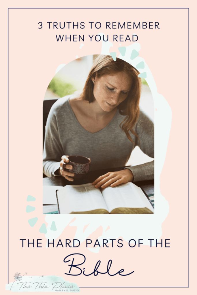 How to Wrestle with Hard Parts of the Bible #biblestudy #bibletime #christianteaching #christianlife #biblereading #biblereadingplan