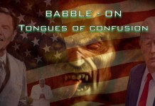 babble on confusion of tongues david barron