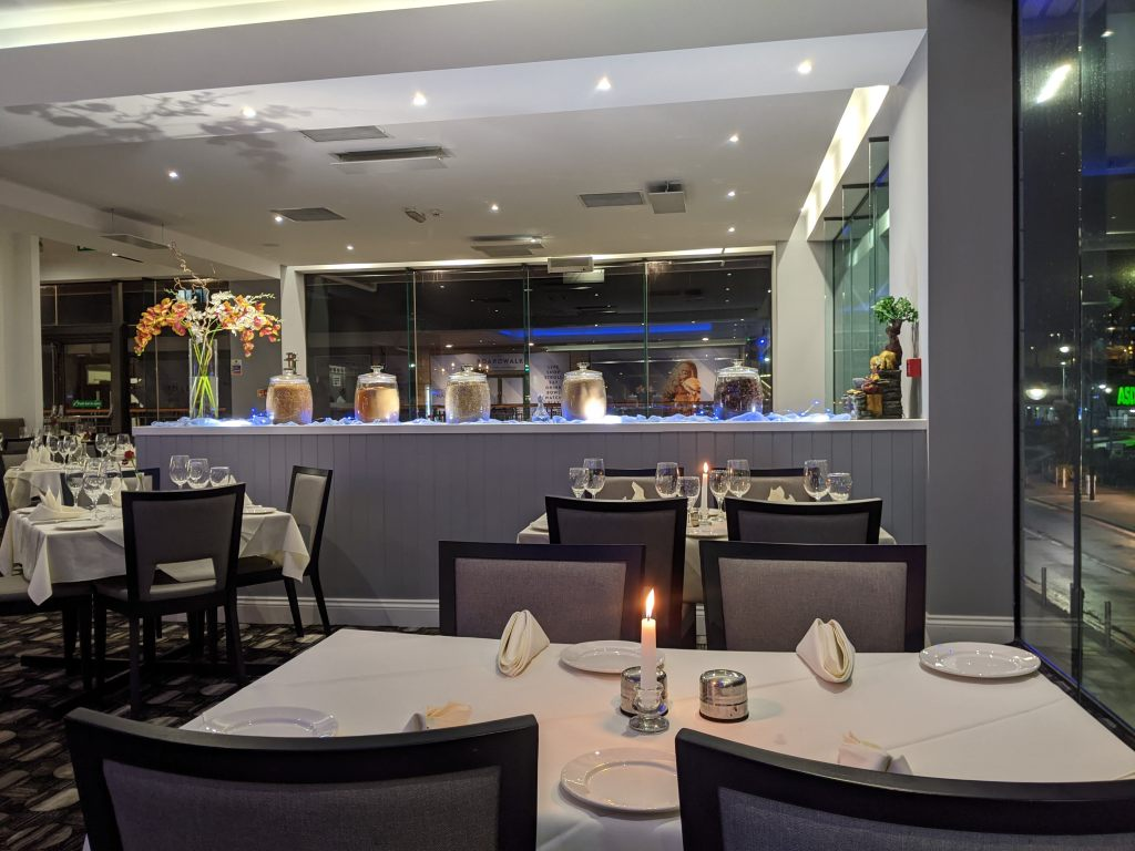 Malika restaurant interior