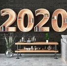 year 2020 sign