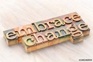 embrace change sign