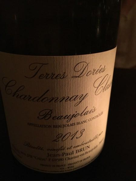 A gorgeous white Beaujolais