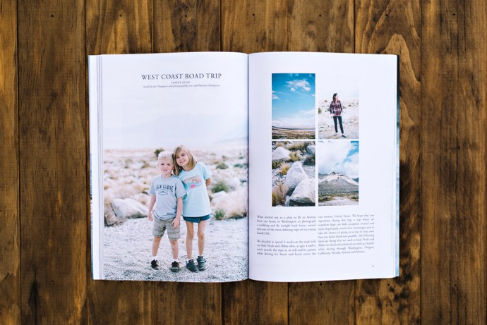 Joe and Patience in Wildling Magazine
