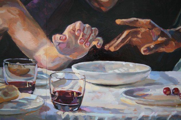 The Last Supper Judas Hand_c