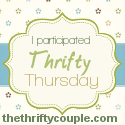 Thrifty Thursday Button