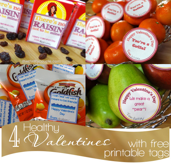 4 Healthy Valentines Card Ideas With Cute Free Printable