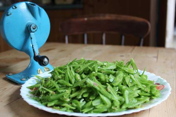 sliced-beans