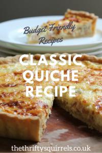 classic quiche recipe