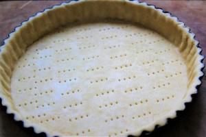 quiche pastry case