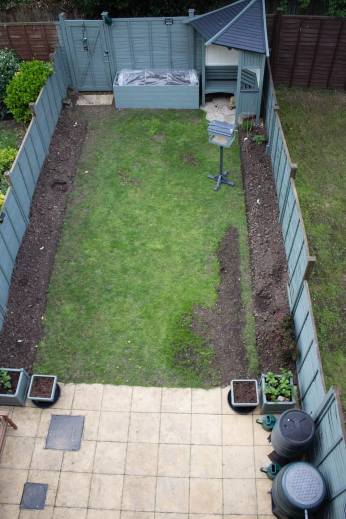 10m x 5m edible garden overview
