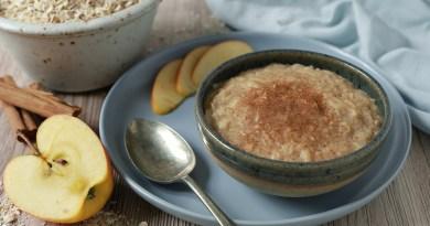 apple cinnamon porridge recipe