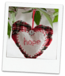 buttonbag winter hearts kit