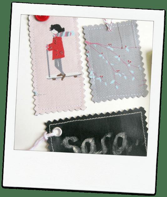 reusable gift tags