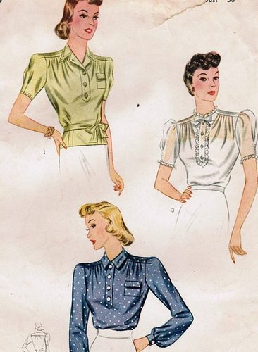 Vintage sewing pattern