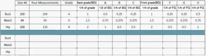 Grading worksheet