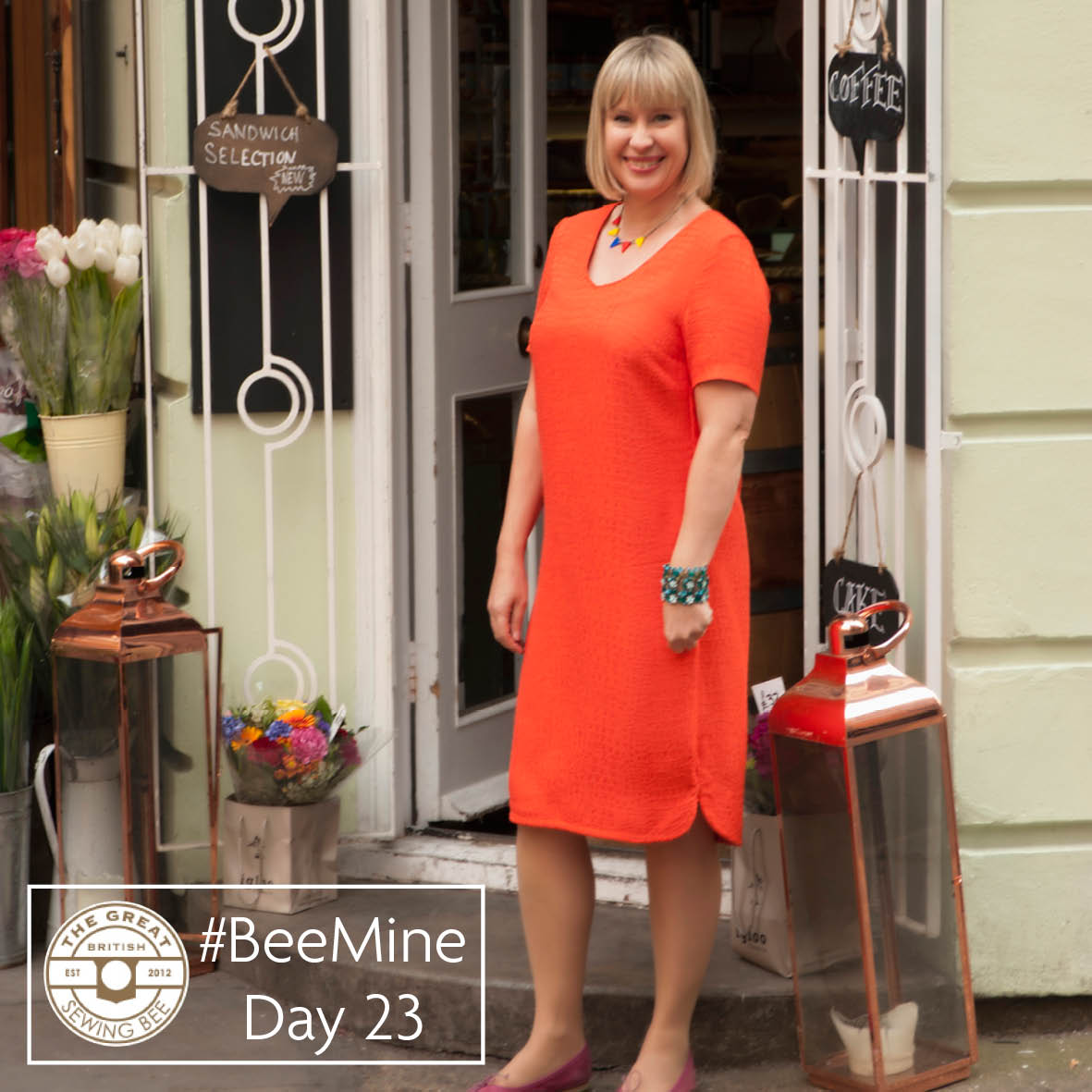Day 23 #BeeMine- My 30 day blog challenge- Fashion With Fabric
