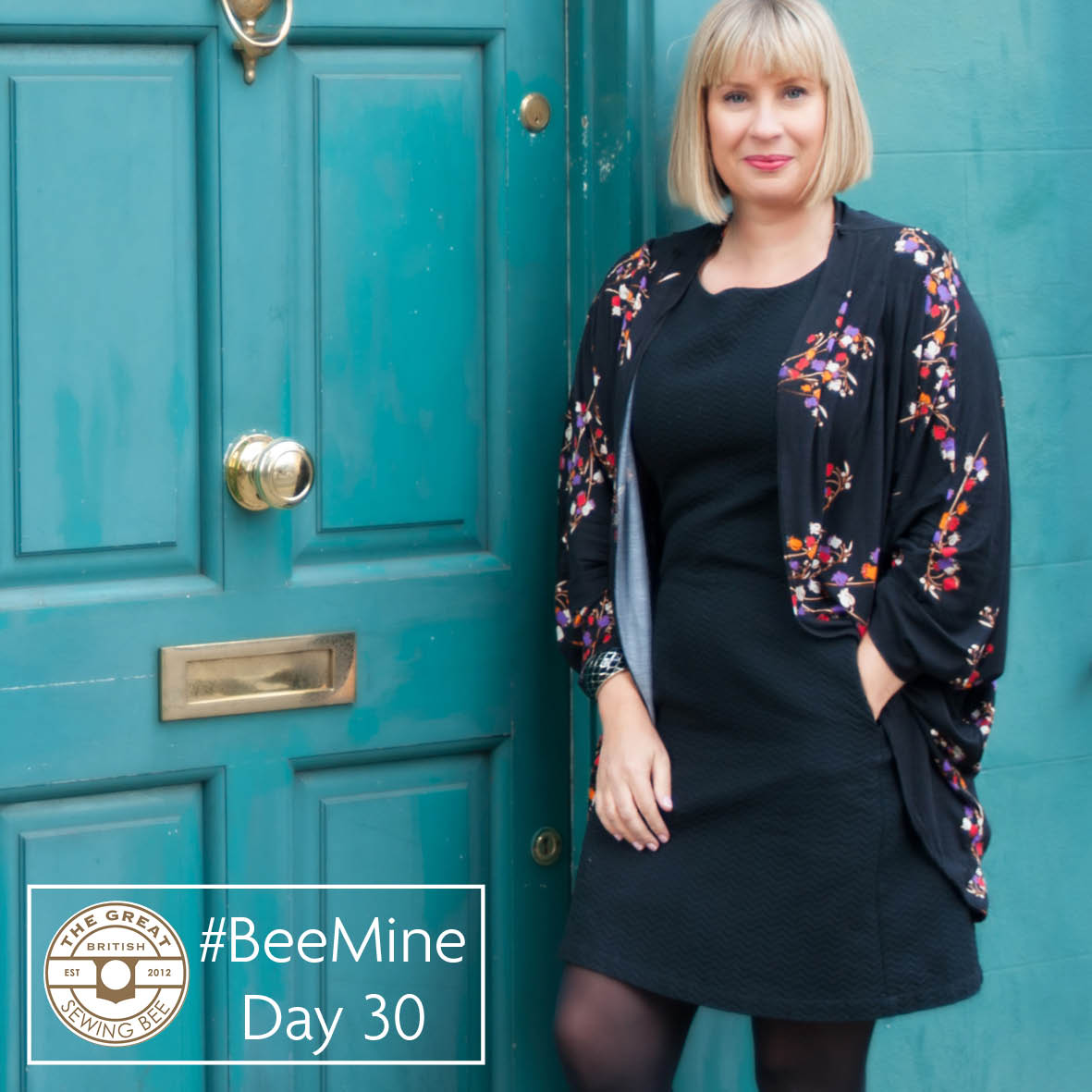 Day 30- the final day of #BeeMine blog challenge- Fashion With Fabric