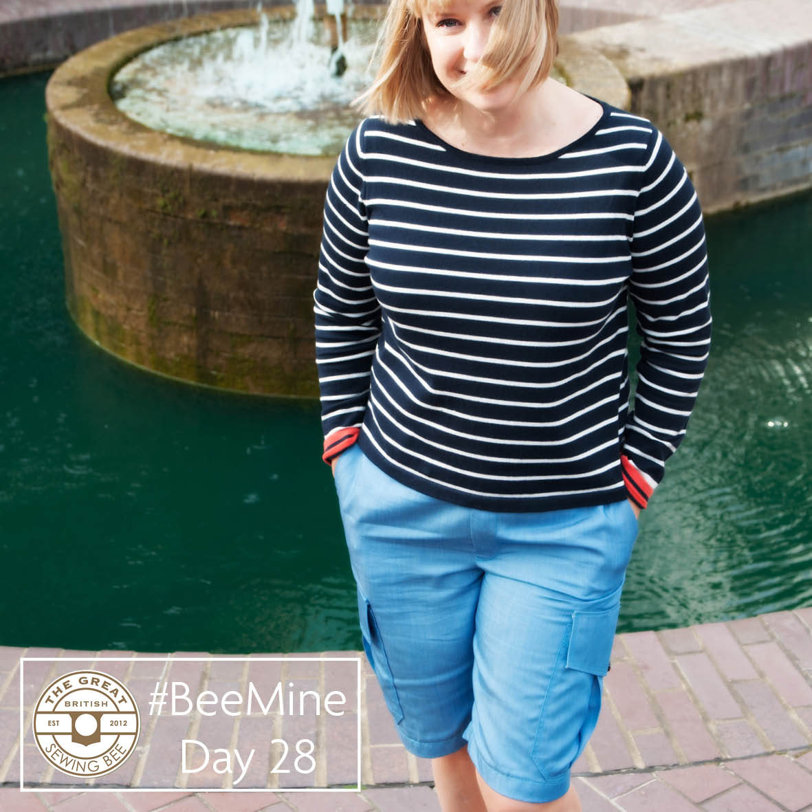 Day 28 #BeeMine- My 30 day blog challenge- Fashion With Fabric