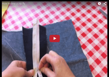 How to insert a zip fly