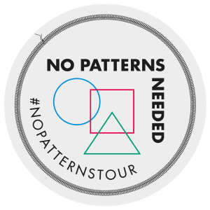 No patterns needed blog tour- The Segment Dress