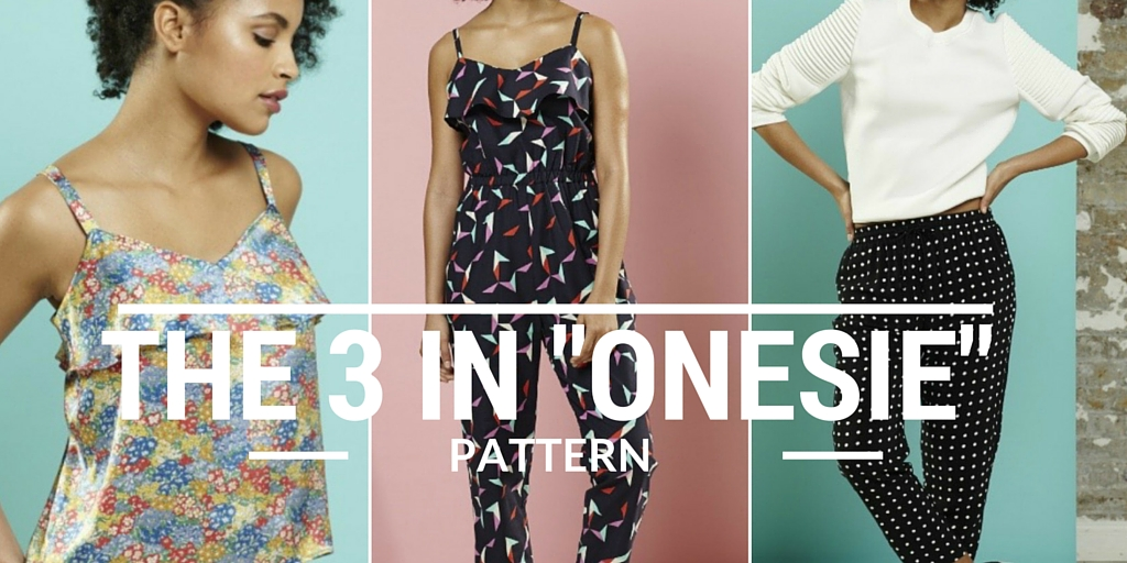 The 3 in onsie pattern