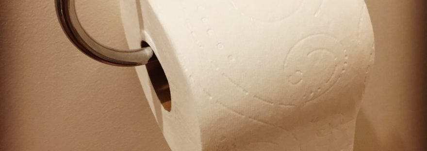 , Toilet paper: it's important!, The Tidy Lady, The Tidy Lady