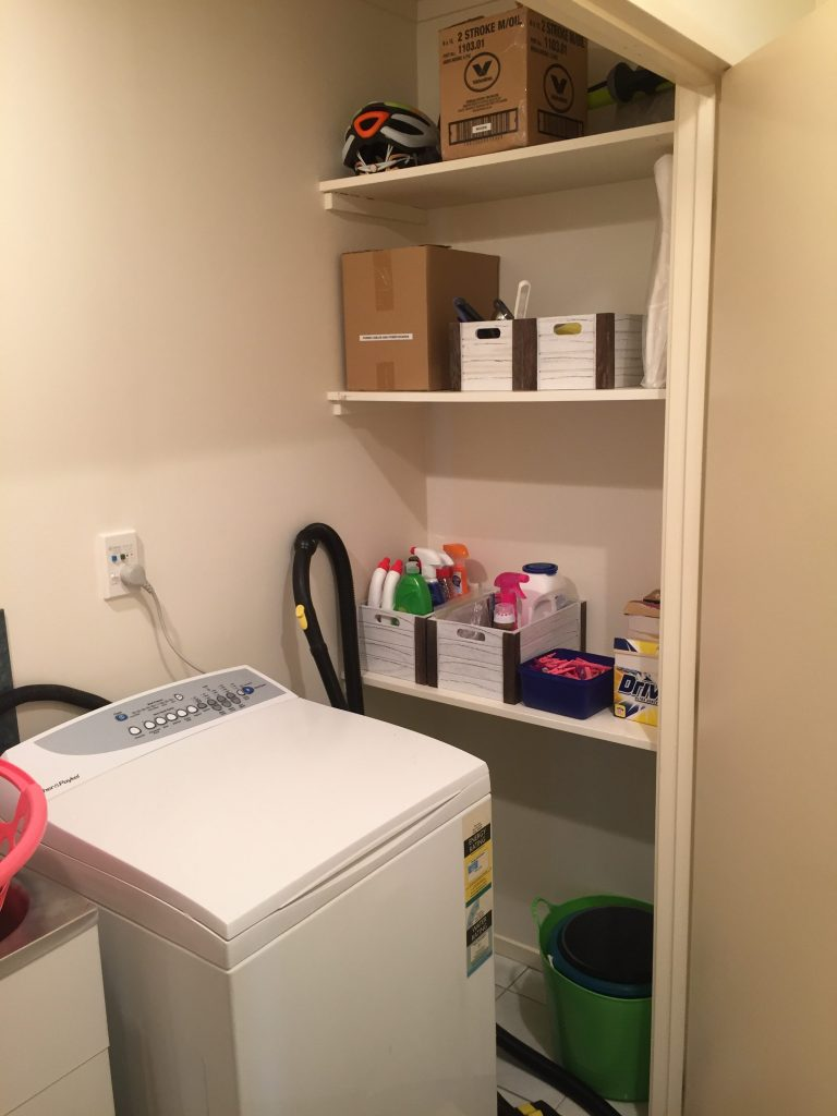 , Tiny Laundry, Organised!, The Tidy Lady, The Tidy Lady
