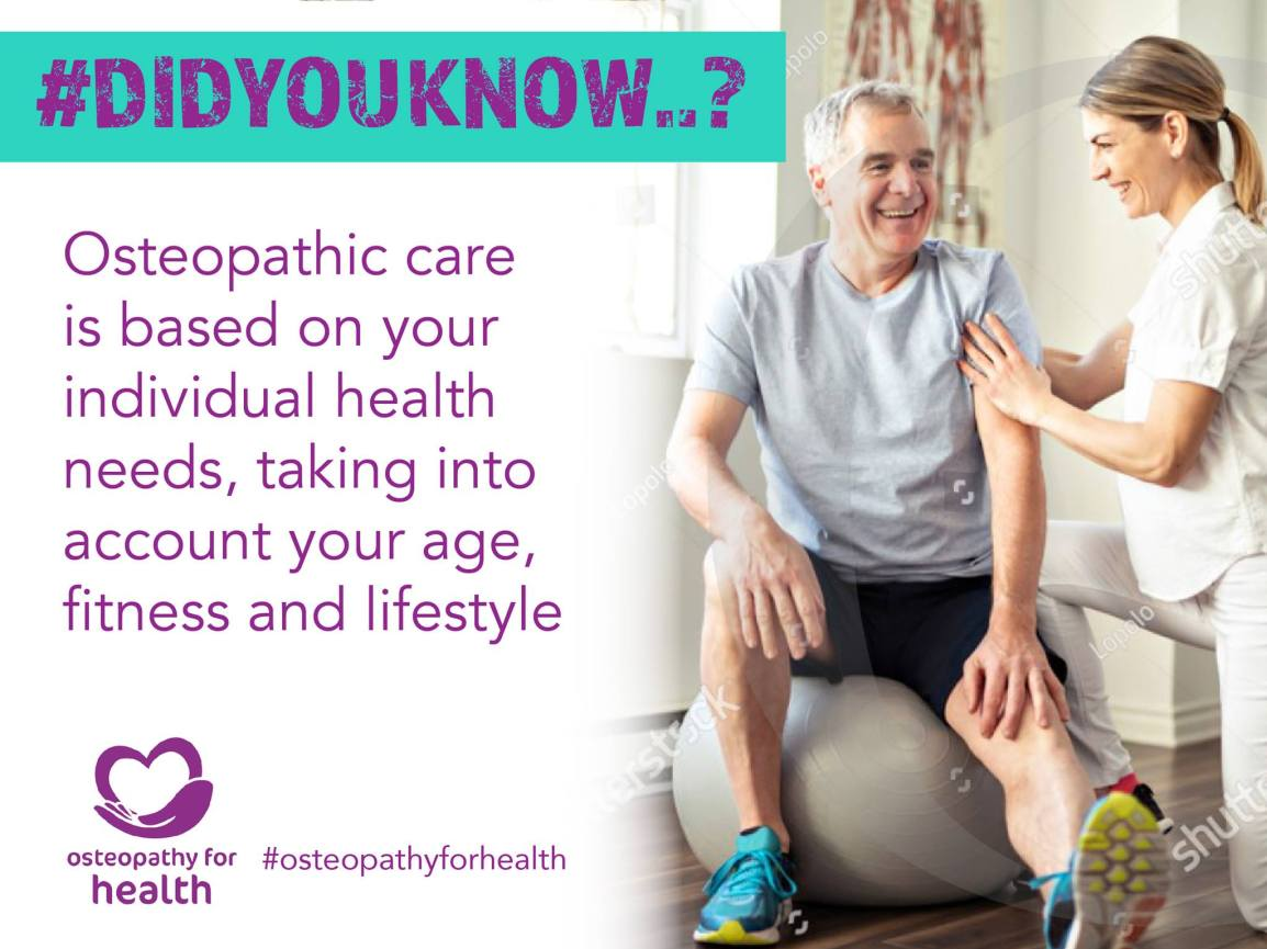 Key facts about osteopathy. Osteopaths