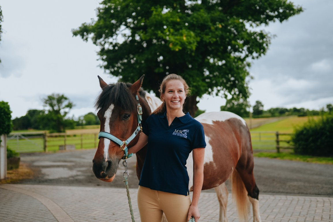 Animal Osteopathy - MSC Osteopathy - Marie Caublot - Home counties