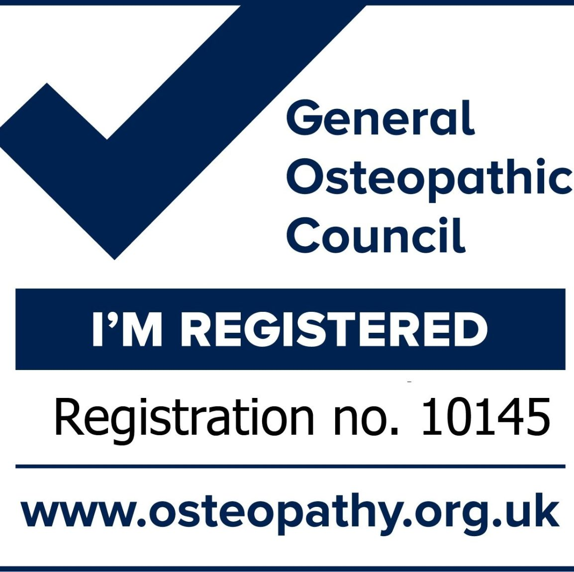 General Osteopathic Council - Registration - The Tilsworth Clinic