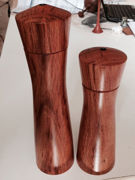 Sheoak Salt and Pepper Grinders