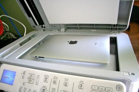 iPad Photocopier