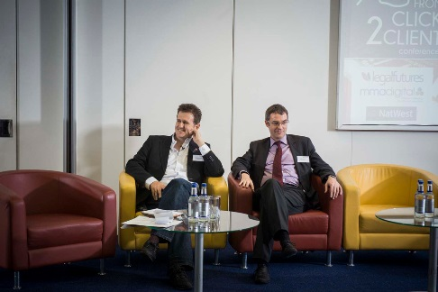 Legal Futures Click 2 Client Conference 2014 - Steve Kuncewicz and Brian Inkster