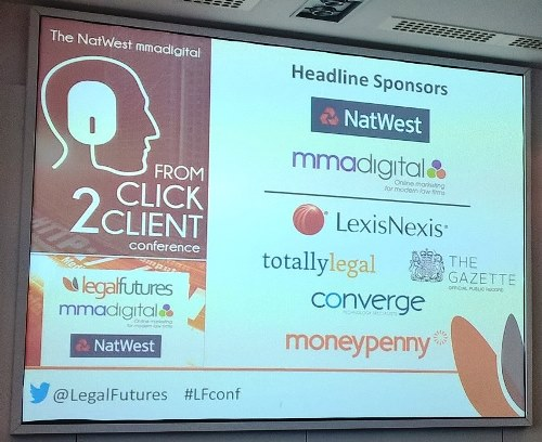 Legal Futures Click 2 Client Conference 2015