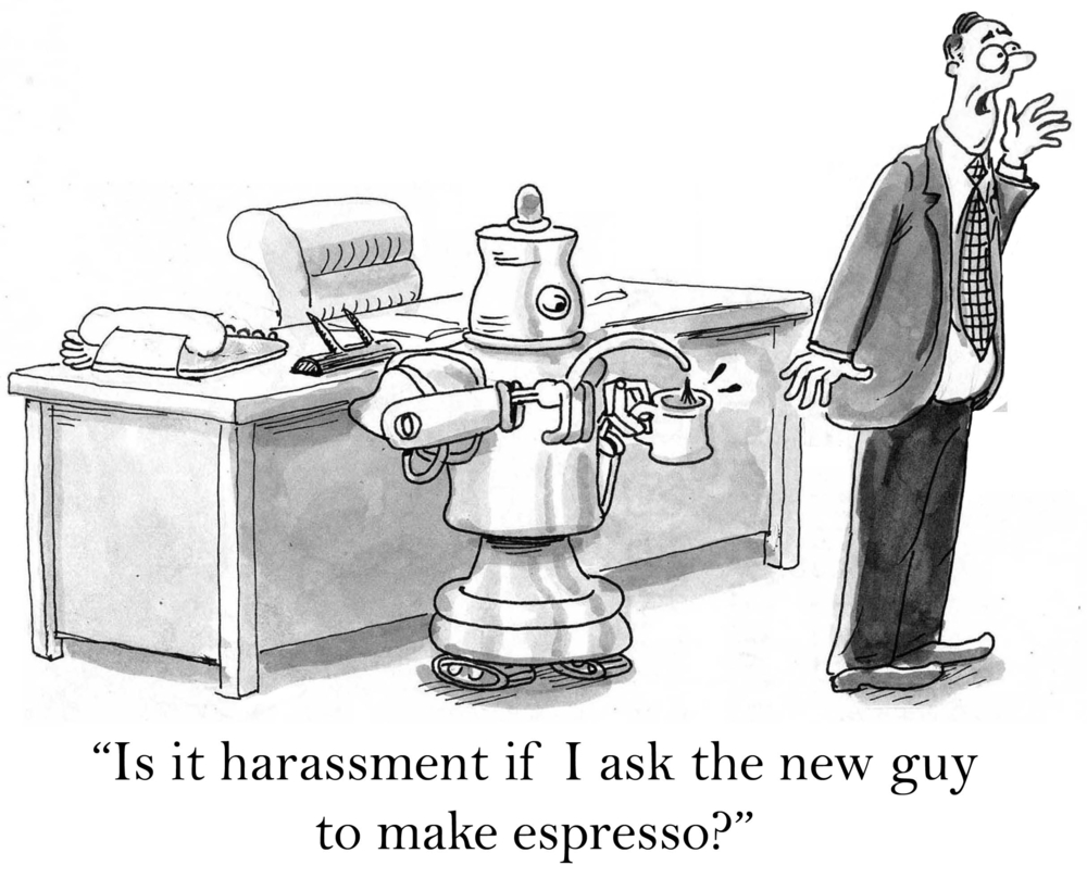 Legal Robot makes coffee - ordering an Uber will be next