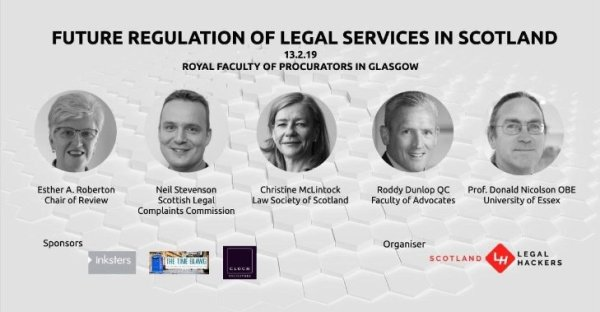 Roberton Review Debate - Legal Services Regulation in Scotland - RFPG - 13 February 2019