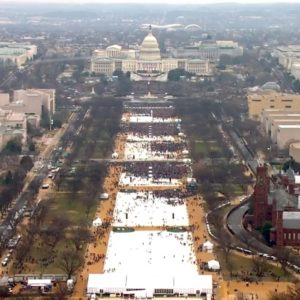 Trumps inauguration ceremony