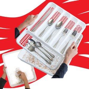 Crumbs Away Cutlery Tray