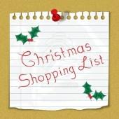 christmas shopping list