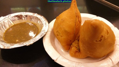 samosa at standard burfee