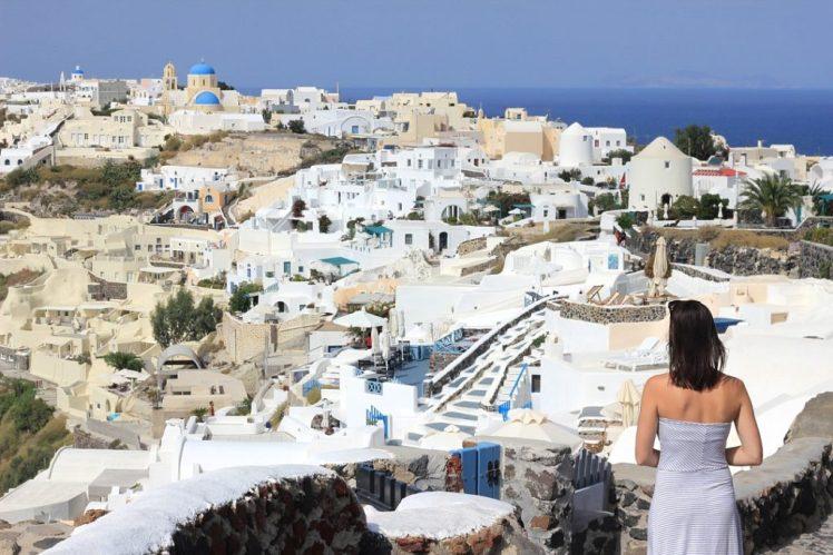 Stunning Views of Santorini