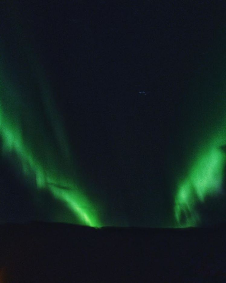 The Northern Lights in Vik