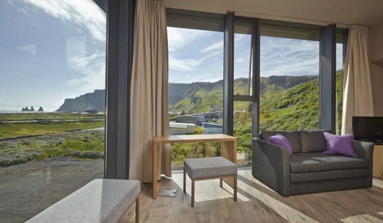 Inside Room - Luxury Icelandair Vik