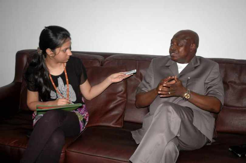 H.E Mr. Francois Balumuene Nkuna, DR Congo, August 16, 2011