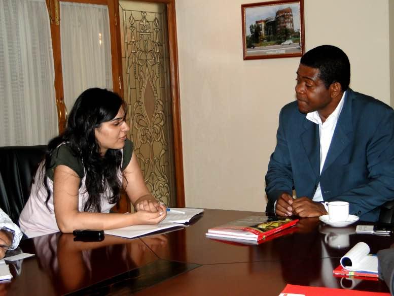 H.E. Desire Koumba, Ambassador, Gabon