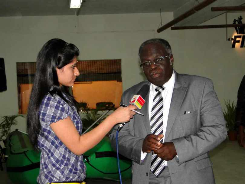 Hon. Mike Akyeampong, Chairman Fisheries Commission, Ministry of Food &Agriculture, Ghana October 19, 2011