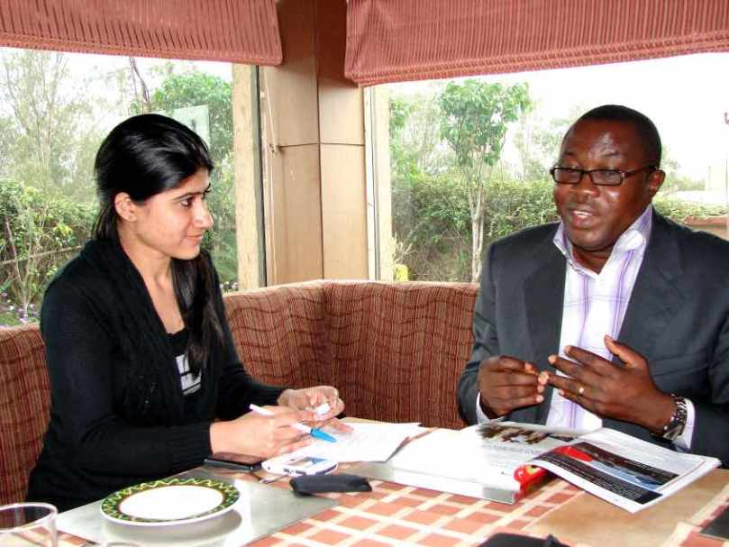Mr. Ofosu Ampofo, Ghana, May 13, 2011