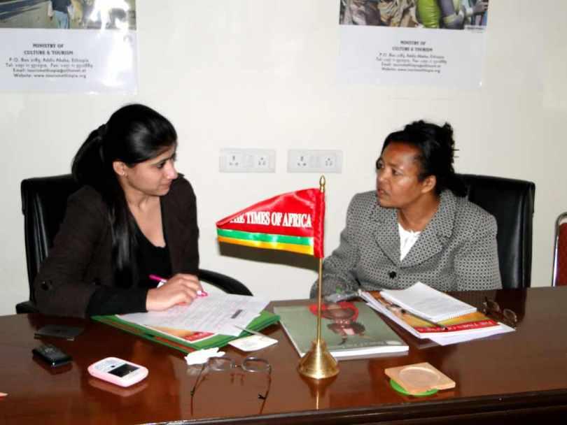 Mrs. Tadelech Dalacho, State Minister, Ethioipia, February 9, 2012